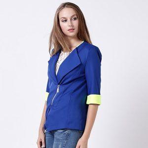 blau blazer
