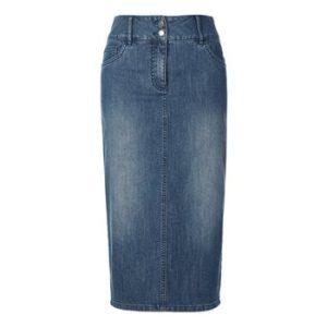 midi rock jeans
