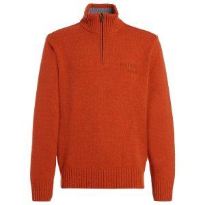 orange pullover herren