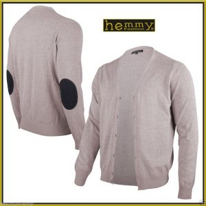 patches strickjacke