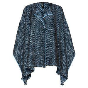 blau poncho