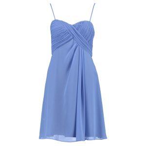 pastellblau kleid