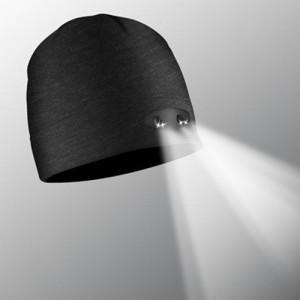 Beanie LED Schwarz