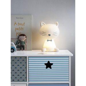 Katzenlampe Nachtlicht vertbaudet