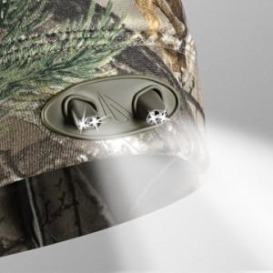 LEDBeanie Detail Natofarben