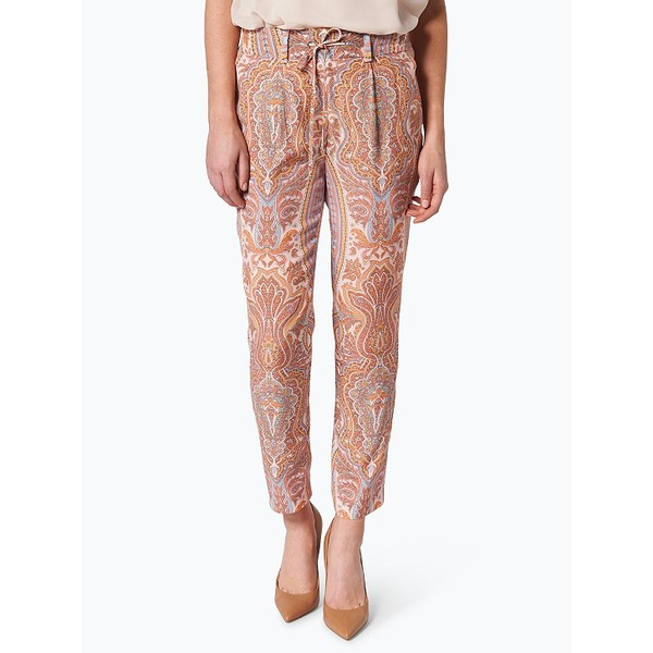Marie Lund Hose mit Paisely-Muster