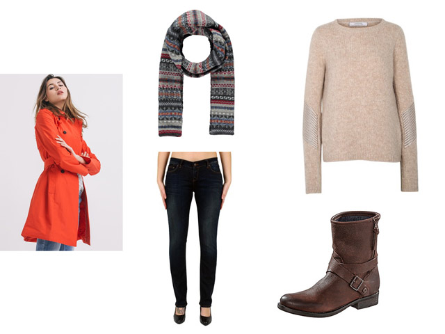Winterlook Damenlook Streetstyle