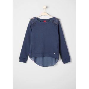 sweater blau soliver