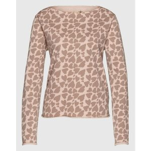leopardflecken pullover juvia