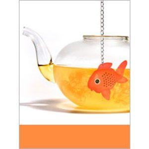 tee-ei goldfisch silikon