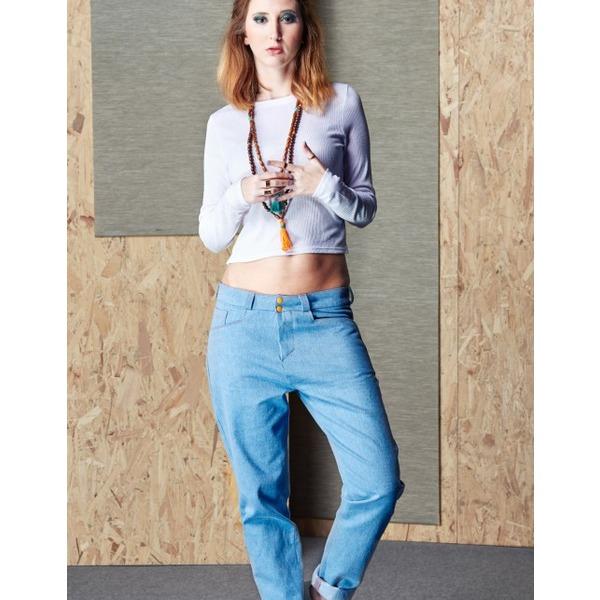 Laura Schneehage Jeans im Baggy-Look