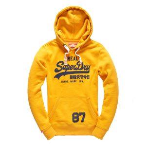 superdry pullover gelb