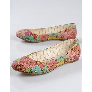 Blumen Ballerina Dogo-shoes