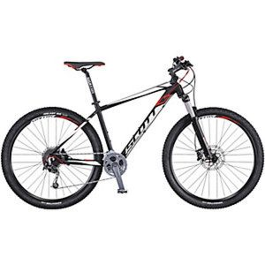 Fahrrad Schwarz Scott