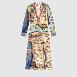 Gucci print kleid