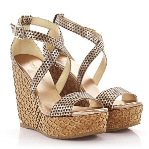 JimmyChoo Wedges Leder