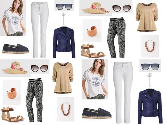 Heiße Frühlingsstyles – Urban Safari & Trendfarbe Blau