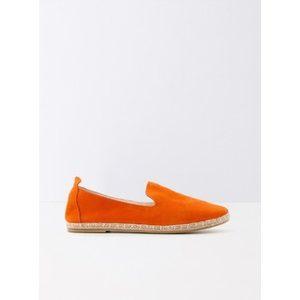 espadrilles orange promod