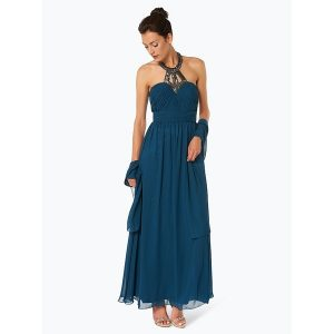 kleid blau unique