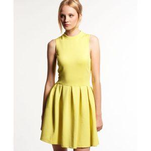 kleid gelb superdry