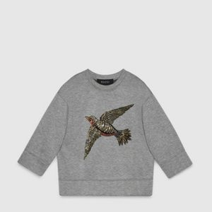 patch vogelpullover gucci