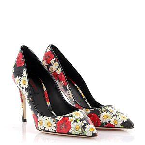 Blumen Pumps Dolce&Gabbana