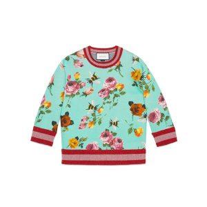 Blumenprint Pullover Gucci