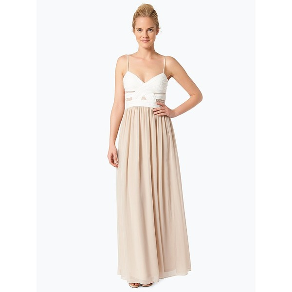 Hailey Logan Damen Abendkleid beige