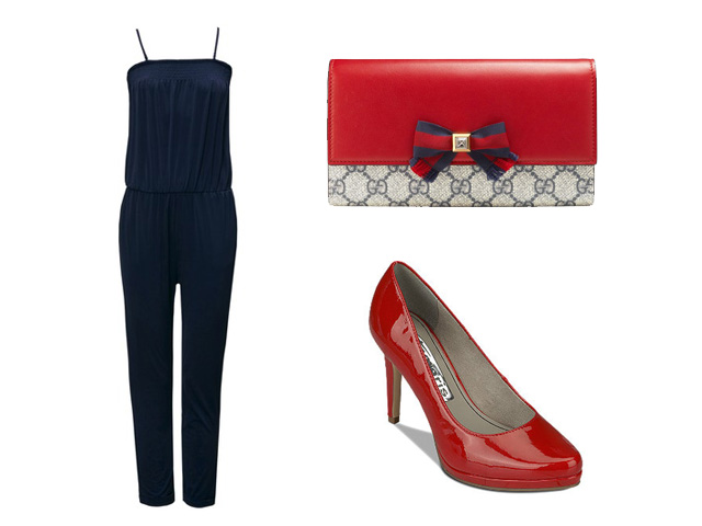 Overall style Jumpsuit Look