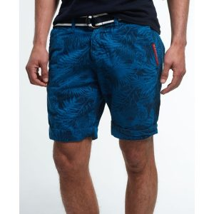 boardshorts superdry blau