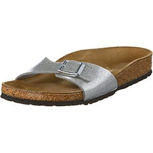 Birkenstock Silber Sandale