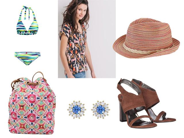Freizeit-Style Modetrends Ethnolook