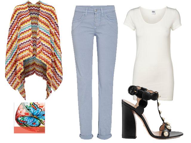 Kombinier mich: Hellblaue Jeans