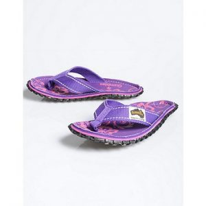 flipflops lila gumbies