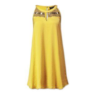 kleid gelb c&a