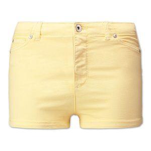 shorts gelb c&a