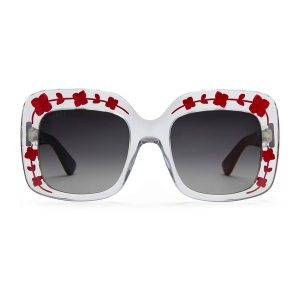 sonnenbrille transparent gucci