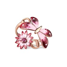 Blumenring Rosegold Gucci
