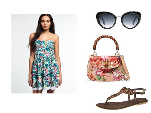 Sommerkleid Sommerstyle Urlaubsstyling
