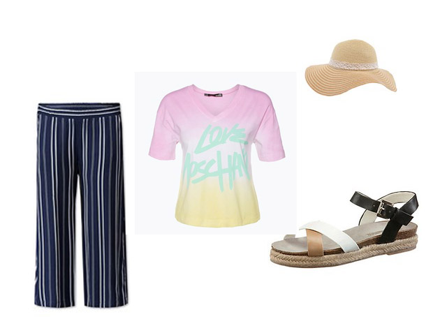 Strandstyle Urlaubsstyling Culotte-Style
