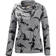 burton hoodie grau