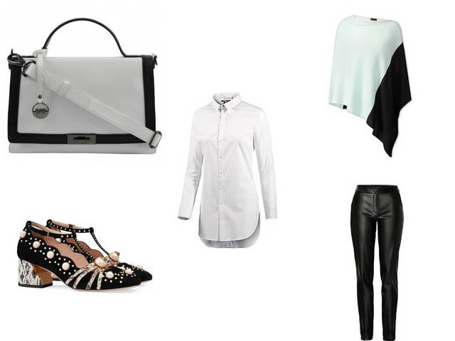 Kombinier mich: Weiße Bluse
