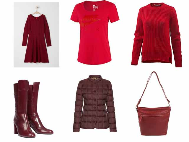 Rot Trendlooks Modetrend