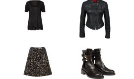 Punk Look in 4 Outfits