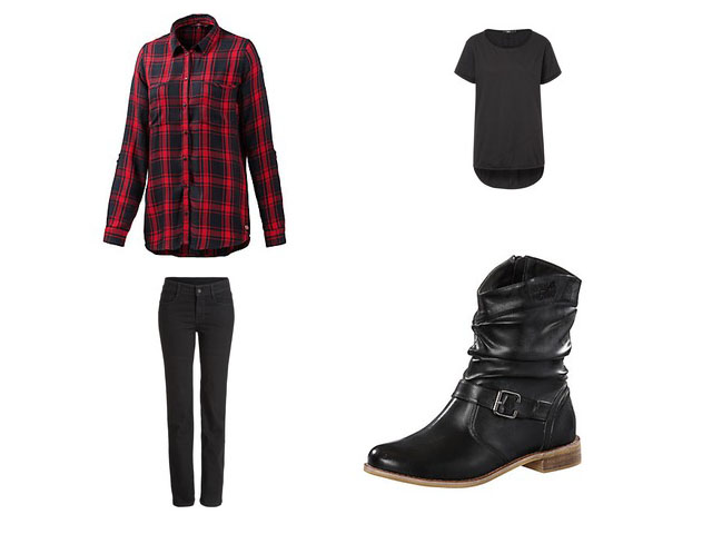 punk-look-karomuster