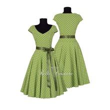 Atelier Belle Couture 50er Jahre Jerseykleid