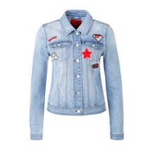 s.Oliver Jeansjacke mit Patches