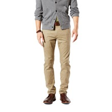 DOCKERS ALPHA - Original Skinny - New British Khaki