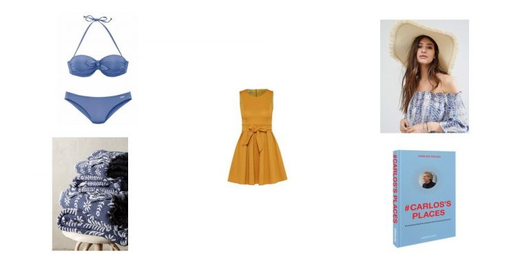 Kombinier mich: Gelbes Kleid