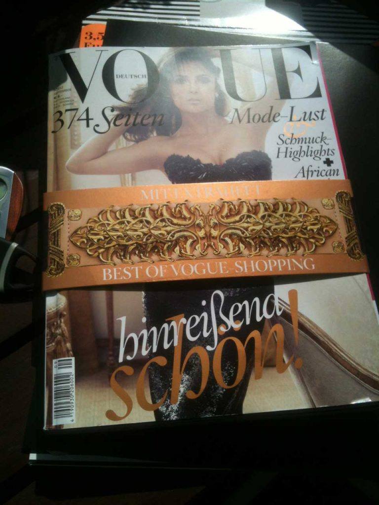 Vogue Fashion's Night Out – September 2012